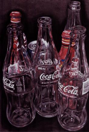 bottles sketch