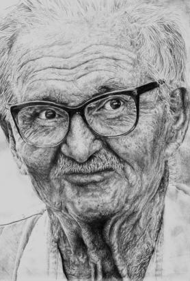 Old man sketch