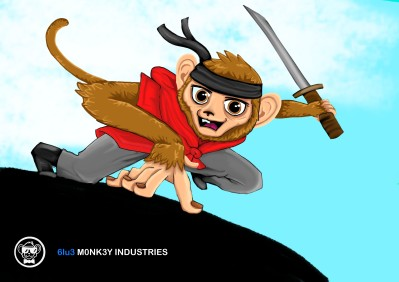 These monkey designs are for a programming project I helped a friend with.