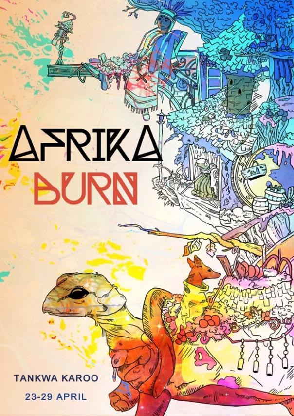 afrika burn poster 1
