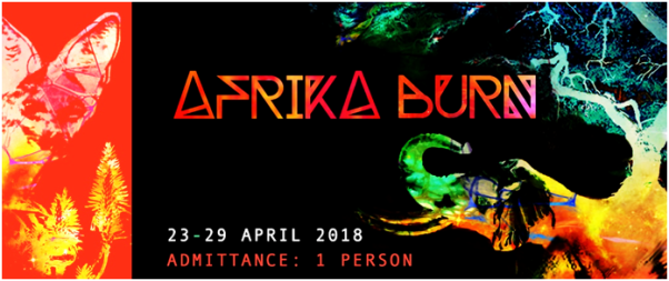 afrika burn ticket