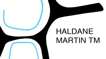 haldane business card front