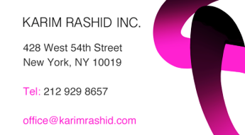 karim business card back