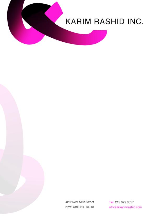 karim letterhead